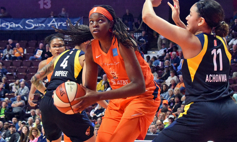 With best record in WNBA, Connecticut erases 10-point deficit to beat Mystics – The Collinsville Press