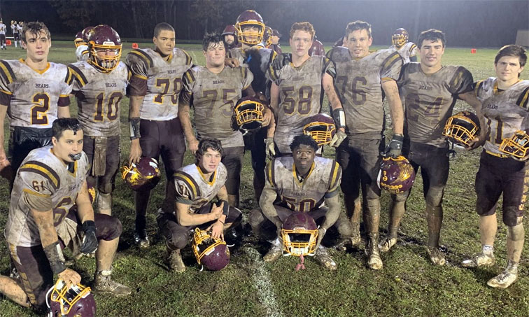 Granby/Canton top Patriots for sixth win in the rain and mud - Collinsville Press